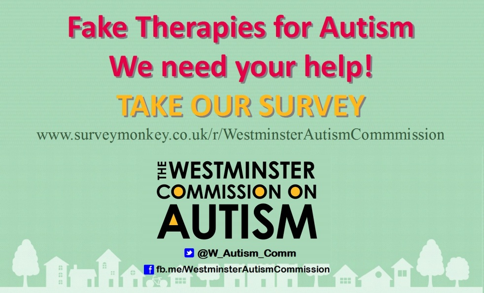 Call for evidence on fake autism treatments and so-called